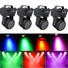 4Pack 105W RGBW 7-LED Moving Head Stage Lighting DMX DJ Disco XMAS Party Light