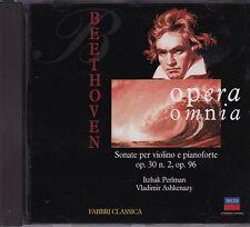 BEETHOVEN Sonate per violino e pianoforte n. 7, n. 10 PERLMAN, ASHKENAZY