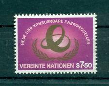 """Nations Unies Vienna  1981 - Michel n. 20 - """"Sources d'énergie nouvelles et ren"""
