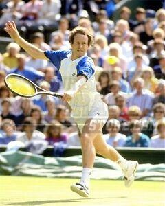 John McEnroe backhand lunge  8x10 11x14 16x20 photo 621