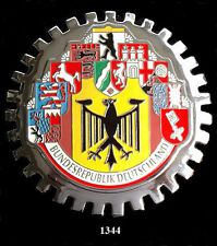 GERMANY CAR  GRILLE  BADGES - GERMANY(10 CITIES)