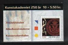 Denmark 2004 Academy of Fine Arts 250th comp bklt--Attractive Topical (1272) MNH
