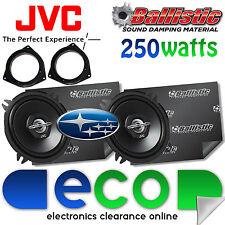 Subaru Impreza Jvc 13cm 500watts 2 Vías De Puerta Frontal altavoces del coche y sonido de amortiguamiento