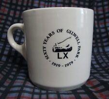 Vtg Sixty Years Of Gilwell Park 1919-1979 Mug Wood Badge Axe & Log Made England