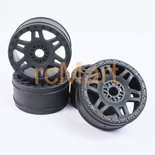PRO-LINE Split Six V2 Black Wheels 4WD 1:8 Buggy RC Cars 17mm Adapter #2724-03