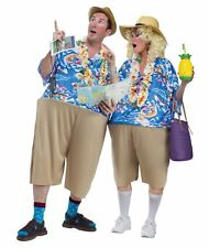 Adult Humor Unisex Couples Tacky Traveler Tourist Funny Fat Halloween Costume