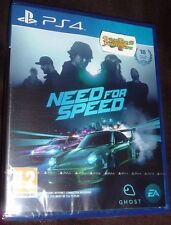 NEED FOR SPEED PLAYSTATION 4 PS4 NEW SEALED