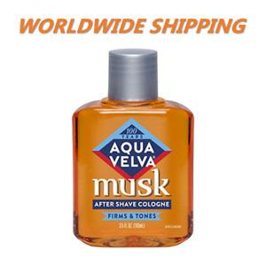 Aqua Velva after Shave Lotion Moschus 3.5 Fl OZ Gratis Weltweiter Versand