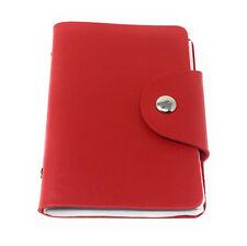 Card Holder Wallet Pocket Credit ID PU Leather Purse Money Cash Travel Mini Slim