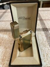 !-  S.T.Dupont Feuerzeug in Gold m. Gebrauchsspuren (40 J. / volle Funktion  -!