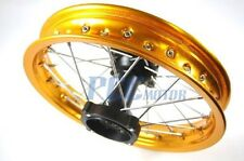 "12"" GOLD REAR RIM WHEEL HONDA SDG COOLSTER 107 110 125cc PIT BIKE V RM07Y"