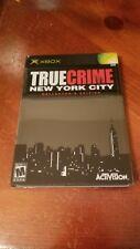 True Crime New York City  Collector Edition Microsoft Xbox 2005 Read Description