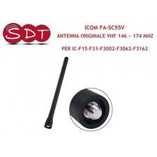 ICOM FA-SC55V ANTENNA ORIGINALE VHF 146 ~ 174 MHZ PER IC-F15-F31-F3002-F3062-F31