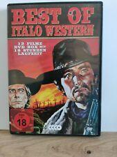 Best Of Italo Western - DVD Box mit 12 Filmen auf 4 DVDs.  A