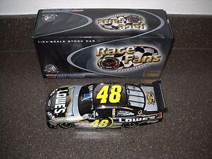 RARE NEW Jimmie Johnson #48 Platinum 2007 Impala SS Race Fans 1:24 (1 of 504)