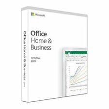 NEW! Microsoft Office 2019 Home & Business Pkc Oem 1 Licence Medialess