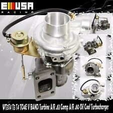 T3 Turbo charger Internal Wastegate Turbine A/R .63 Comp A/R .42 Oil Cool