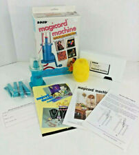 Bond Magicord Machine Manual Cord Maker New w/ Instructional Vhs 1990's 1994