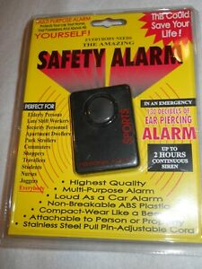 NIP ~ Sports Personal Safety Alarm ~ belt clip or buckle hook