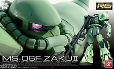 Gundam 1/144 RG #04 MS-06F Zaku II Green Model Kit Bandai Real Grade