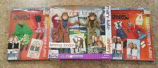 2002 Mattel Mary Kate and Ashley Winning London Doll Set Lot. NIB Extra Clothes