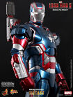 HOT TOYS IRON MAN 3 IRON PATRIOT DIECAST 1:6 FIGURE ~Sealed in Brown Box~