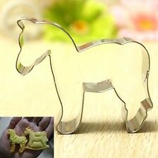 Animal Horse Stainless Steel Biscuit Cookie Cutter Fondant Cake DIY Mold