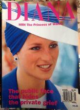 Princess Diana THE PICTURE PORTFOLIO BOOKLET PUBLIC FACE MAGAZINE PHOTO