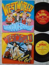 WESTWORLD X 2 - SONIC BOOM BOY / BA-NA-NA-BOOM-BOO **EX