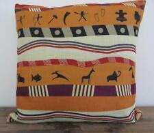 Ethnic Tribal Indigenous Paintings Linen Blend Cushion Cover 45cm #4
