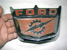 1960 FORD TRUCK 6 CYLINDER HOOD CHROME TRIM  L@@K