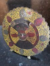 Antique Chinese Brass Calendar 55 Years 34