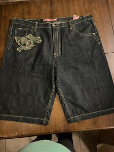 Azzure Denim Embroidered Jean Shorts Men's Size 50 NWT