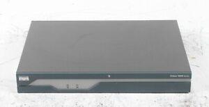 Cisco 1841 100 Mbps 2-Port 10/100 Wired Router CISCO1841 V05; 6106645