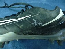 Steve Breaston Autographed Game Worn NIKE Shoe Size 12