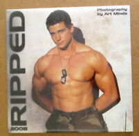 Ripped Calendar 2008 Fitness Male Models Bodybuilder Hot Hunks Jocks Muscle Men