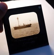 More details for morecambe bay lightship antique photo magic lantern slide #2048