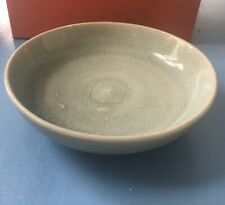 Antique Ming Dynasty Celadon Bowl Yuan Longquan Asian Chinese