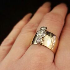 9 Carat Engagement Band Yellow Gold Fine Rings