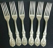 Reed & Barton Francis I (Sterling Dinner Forks (6) Set Of Six   Six Total in Lot