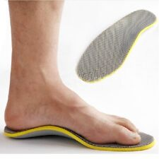 Unisex 3D Orthotic Flat Feet Foot High Arch Pad Heel Support Shoe Insoles FG
