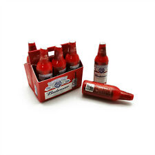 Dollhouse Bottles of Brand Beer Carton Set 1:6 Model Miniature Accessories