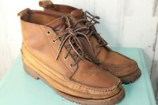J.Crew 10.5 M Moc toe Ankle Laced Hiking Men's Boots