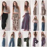 Ladies Wide Leg Harem Trousers - Hareem Pants Women Baggy Leggings Ali Baba