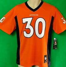 J267M NFL Denver Broncos GENUINE Phillip LINDSAY #30 Jersey Youth Med 10-12 NWT!
