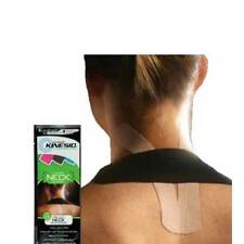 Kinesio Pre-Cut Tape Neck One Application Suitable For 2-3 Day Wear 100% Cotton