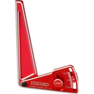 JConcepts 8128 RM2 Aluminum camber gauge 120mm - red