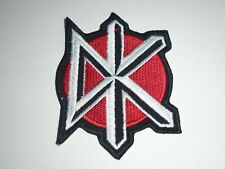 DEAD KENNEDYS IRON ON EMBROIDERED PATCH