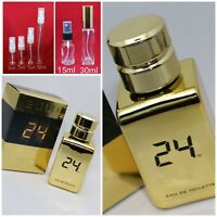 24 GOLD Cologne Scentstory Authentic SAMPLE 2ml 3ml 5ml 10ml 15ml FREE SHIPPING