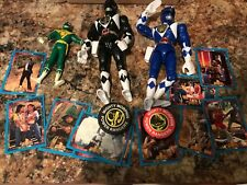 Bandai ASSORTED MIGHTY MORPHIN POWER RANGERS TOYS 1994 Action Figures & Cards